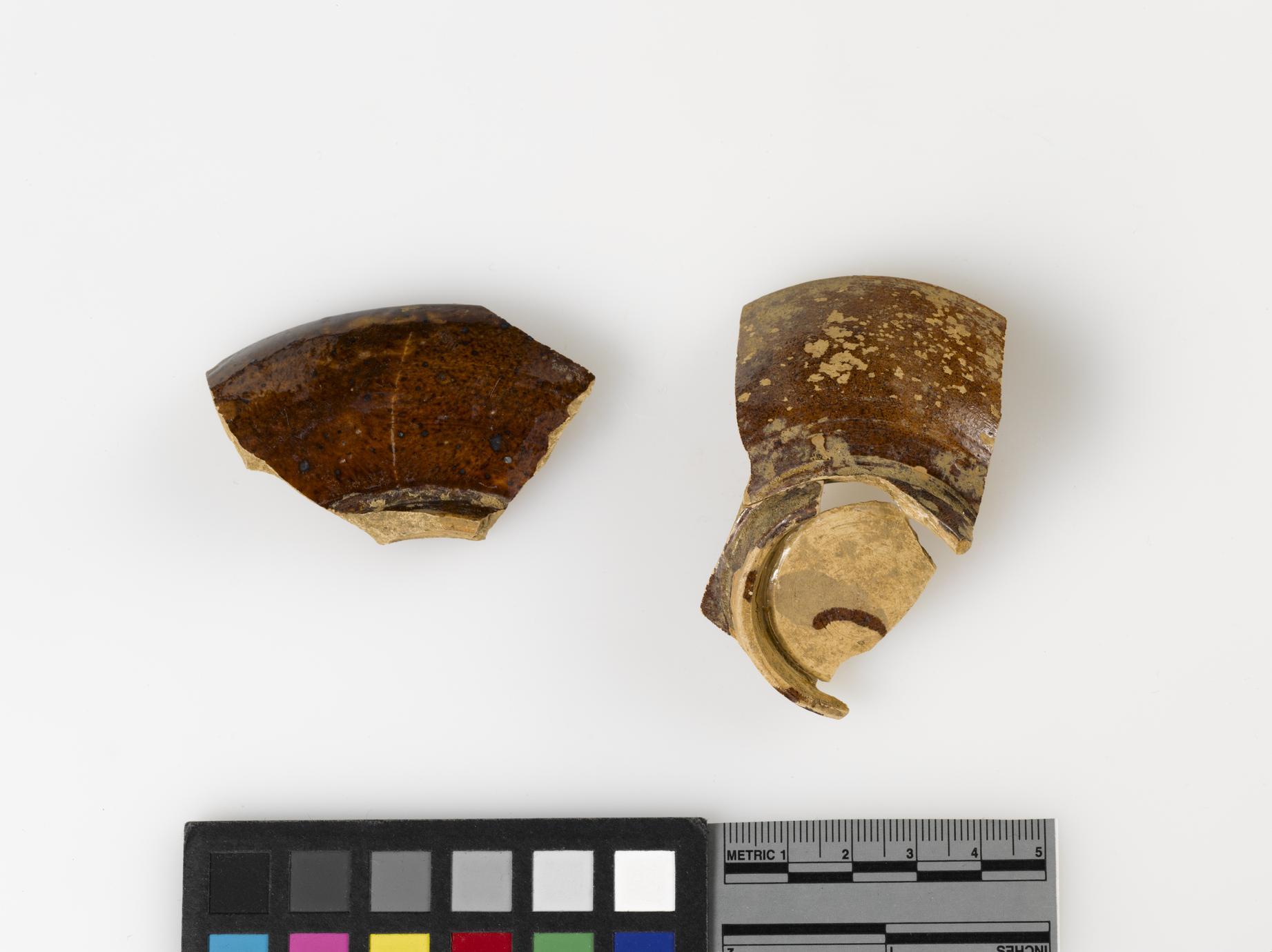 Tea bowl fragments (1 of 2)