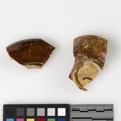 Tea bowl fragments