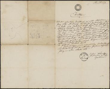[Baptismal certificate for Ferdinand Bilinsky, October 3, 1853]