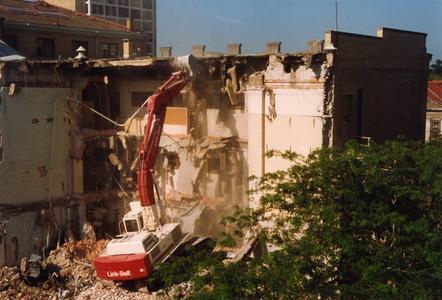 Demolition of Wisconsin High School