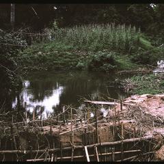 Tha Deua bend--traditional irrigation dam