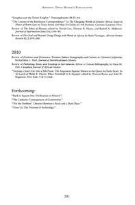 Page 287 - Appendix: David Henige's publications