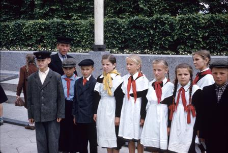 Schoolchildren in uniform