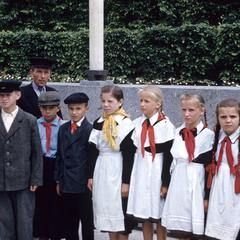 Schoolchildren in uniform