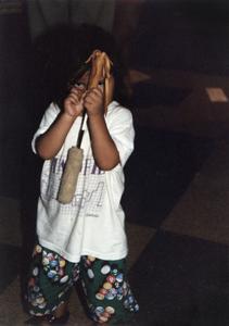 Native American child at 1995 MCOR