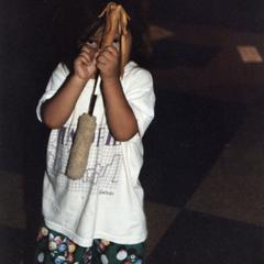Native American child at 1995 MCOR