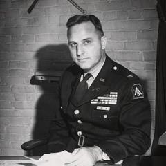 Col. Chester Allen in uniform
