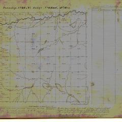 [Public Land Survey System map: Wisconsin Township 28 North, Range 06 East]