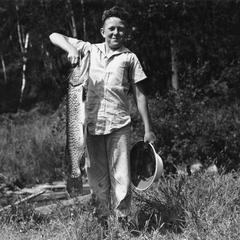 Musky fisherman
