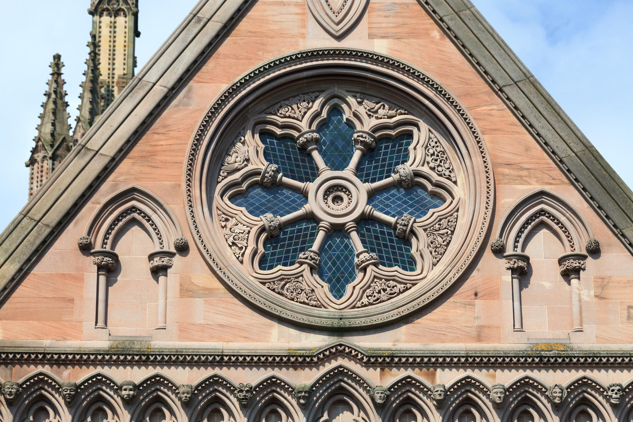 Hereford Cathedral east end