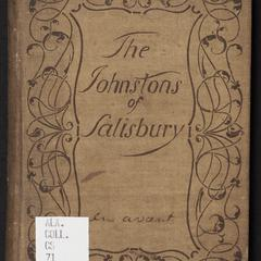 The Johnstons of Salisbury : with a brief supplement, concerning the Hancock, Strother and Preston families