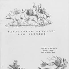 [Proceedings of the Midwest Deer and Turkey Study Group Annual Meeting, 1989]