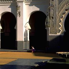 Arches in the Courtyard of the Kairaouine Mosque