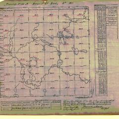 [Public Land Survey System map: Wisconsin Township 33 North, Range 15 East]