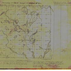 [Public Land Survey System map: Wisconsin Township 28 North, Range 14 East]
