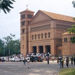 Cathedral in Lubumbashi