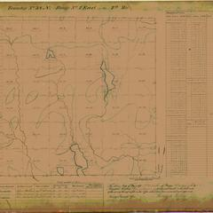[Public Land Survey System map: Wisconsin Township 38 North, Range 04 East]