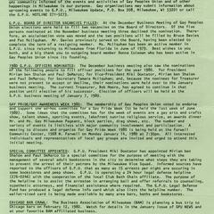Milwaukee Update : January 1980
