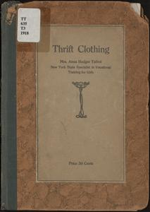 Thrift clothing