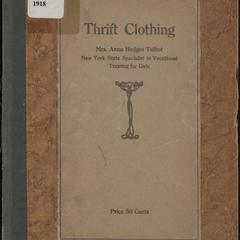 Thrift clothing