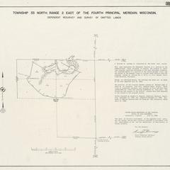 [Public Land Survey System map: Wisconsin Township 33 North, Range 02 East]