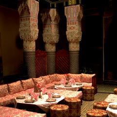 Interior of Fez Medina Restaurant