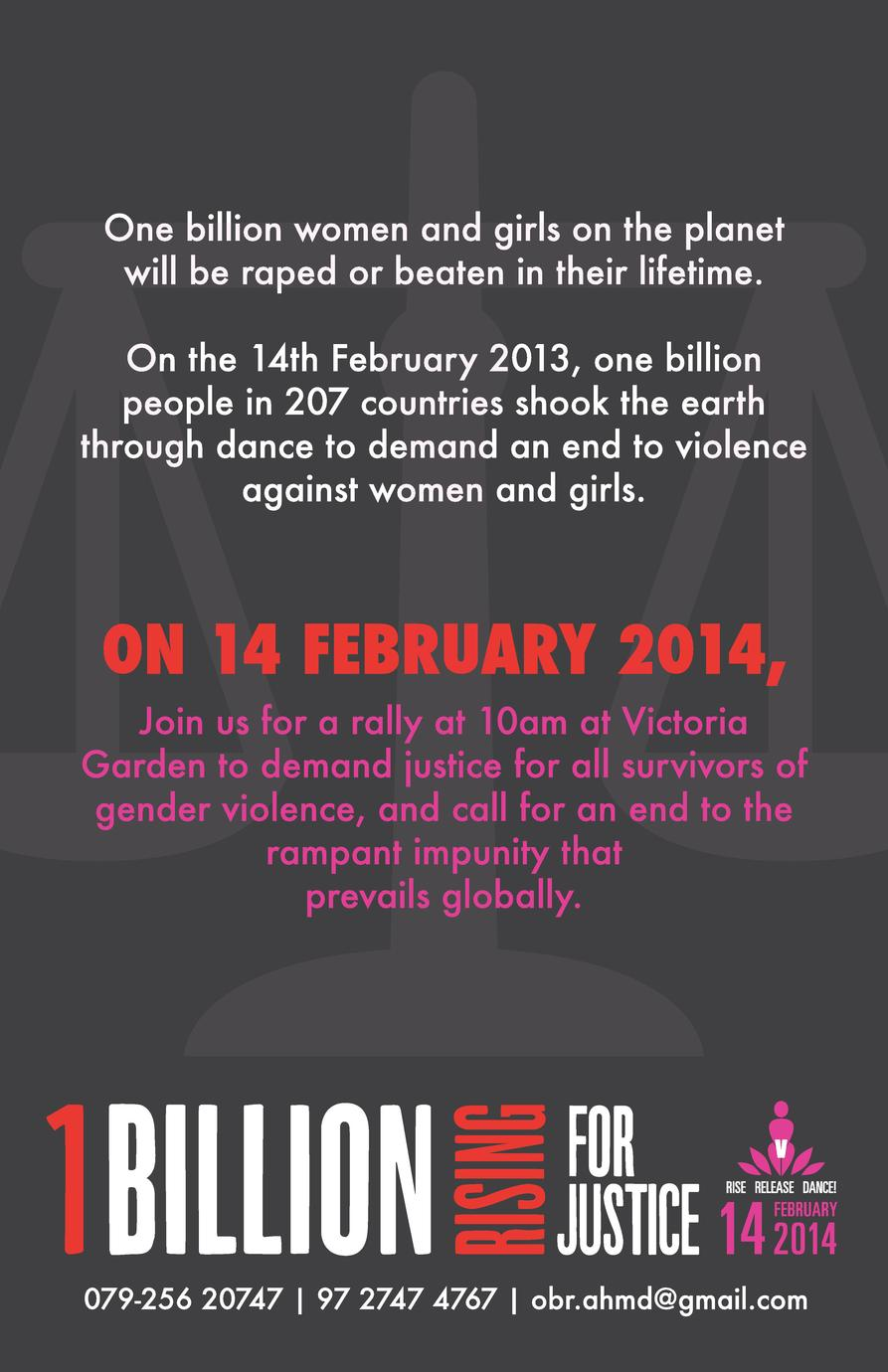 One billion women and girls