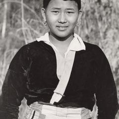 A White Hmong woman in Houa Khong Province