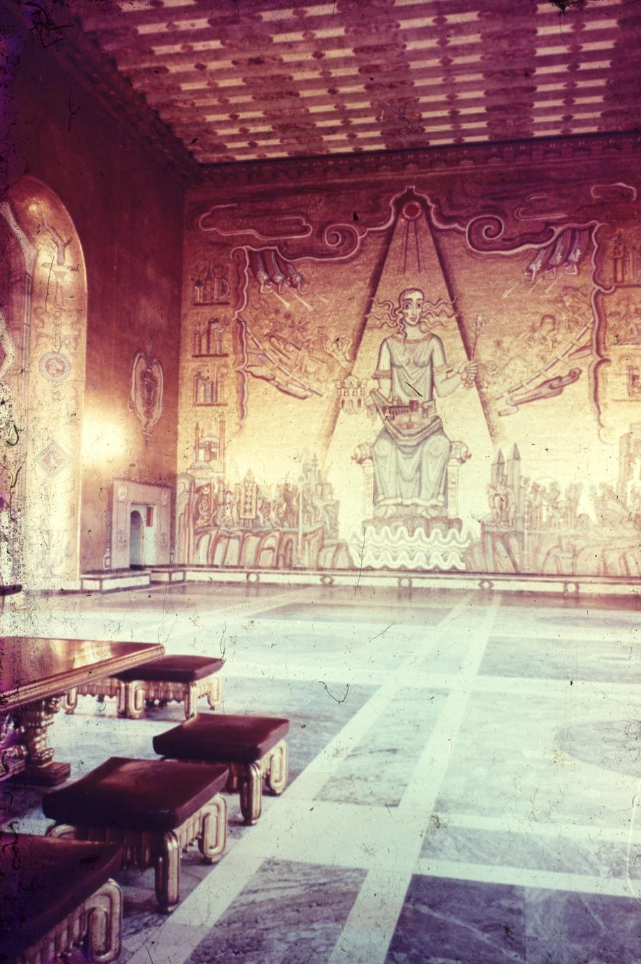 The Golden Chamber, Stockholm City Hall