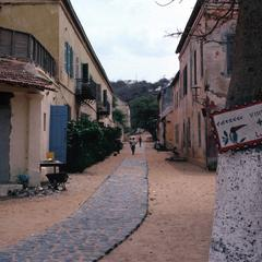 Alley and Buildings on Gorée Island