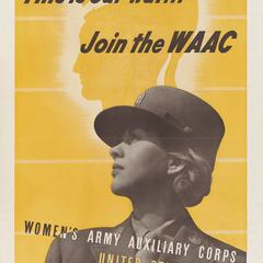'This is our war' WAAC poster