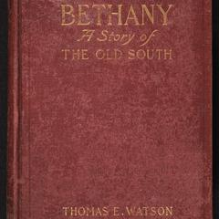 Bethany : a story of the old South