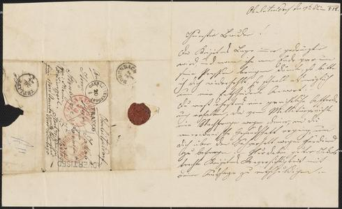 [Letter from Julie Sternberger to her brother, Jakob Sternberger, January 19, 1858]