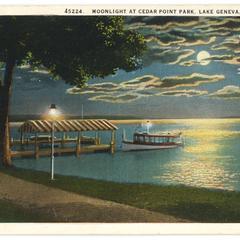 Moonlight at Cedar Point Park
