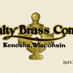Specialty Brass Company letterhead