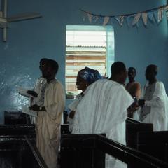 Thanksgiving service at church