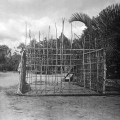 Frame of a House Under Construction