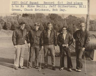 Barron County Campus golf squad