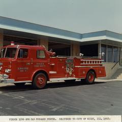 Pirsch pumper fire engine