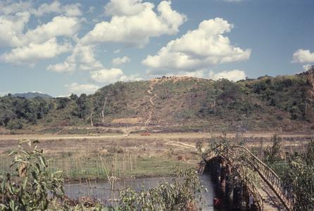 Bridge and airstrip
