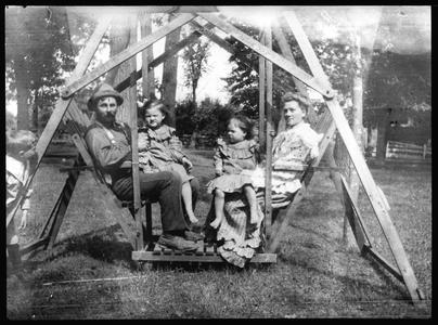 Mr. and Mrs. Joe Clark, Dorothy and Martha