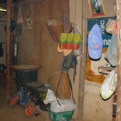 Inside a Hmong home