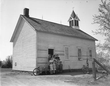 Spooner School-Town of Stettin, Marathon County, WI