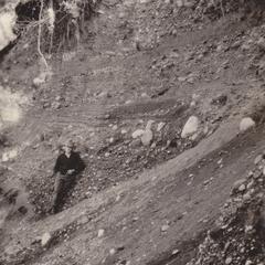 Coarse gravel in Lac du Flambeau pit