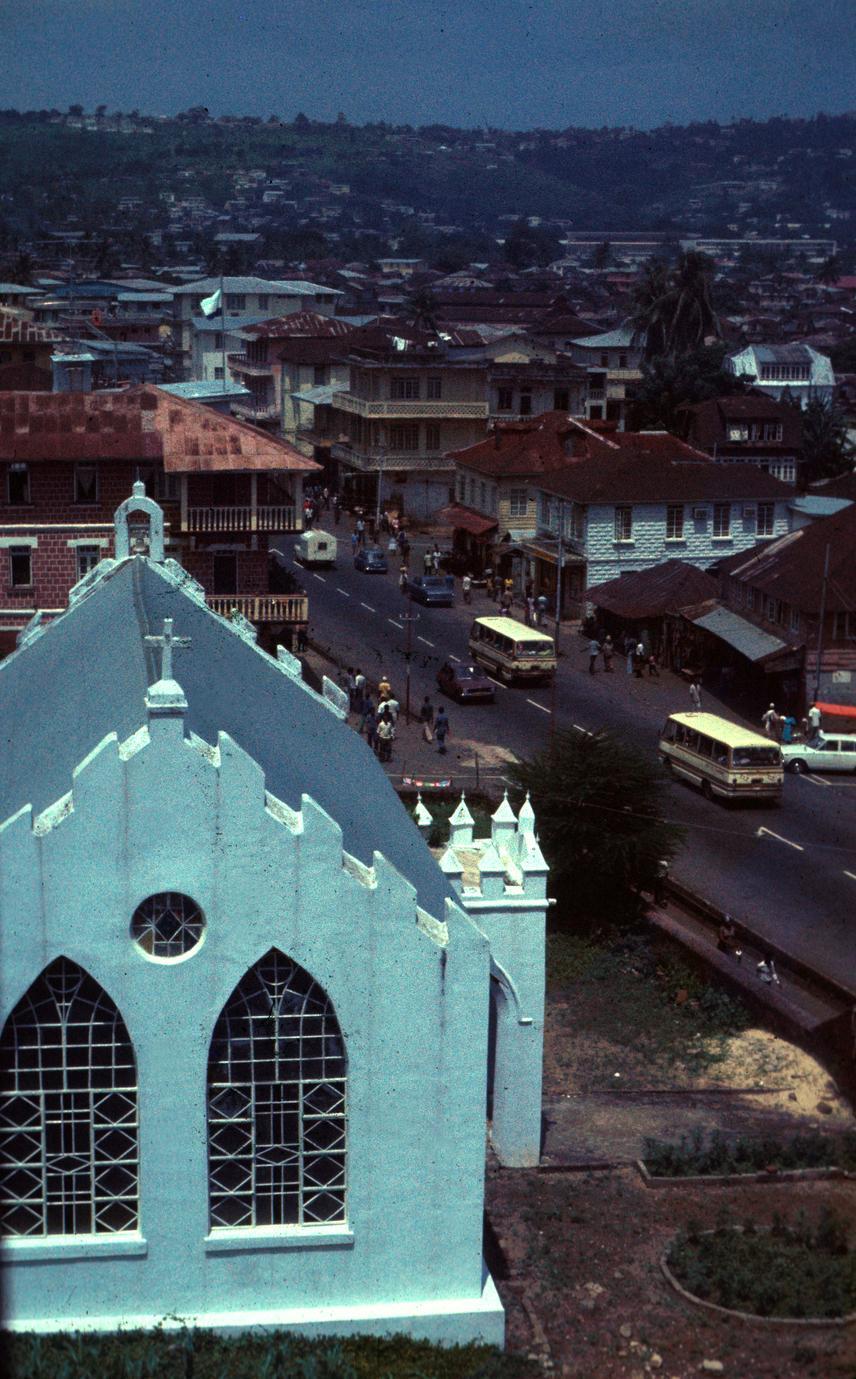 St. John's Maroon Church, Freetown