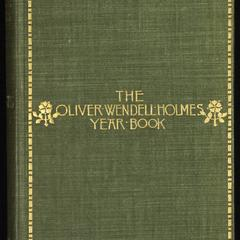 The Oliver Wendell Holmes year book
