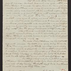 Agreement and contract between John P. Osborn and Felix Dominy, 1833