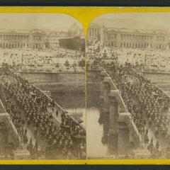 Fête du 15 août : Pont et Place de la Concorde le jour de la fête