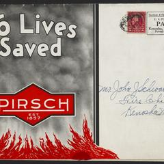 16 lives saved : the Pirsch Smoke Ejector