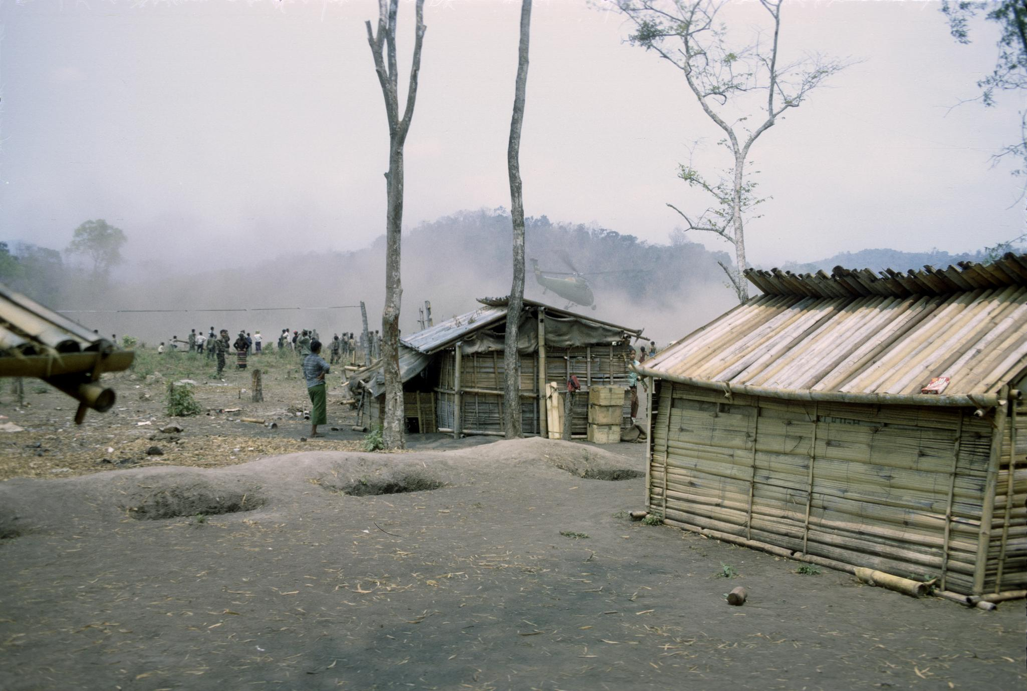 Khmu' refugee village